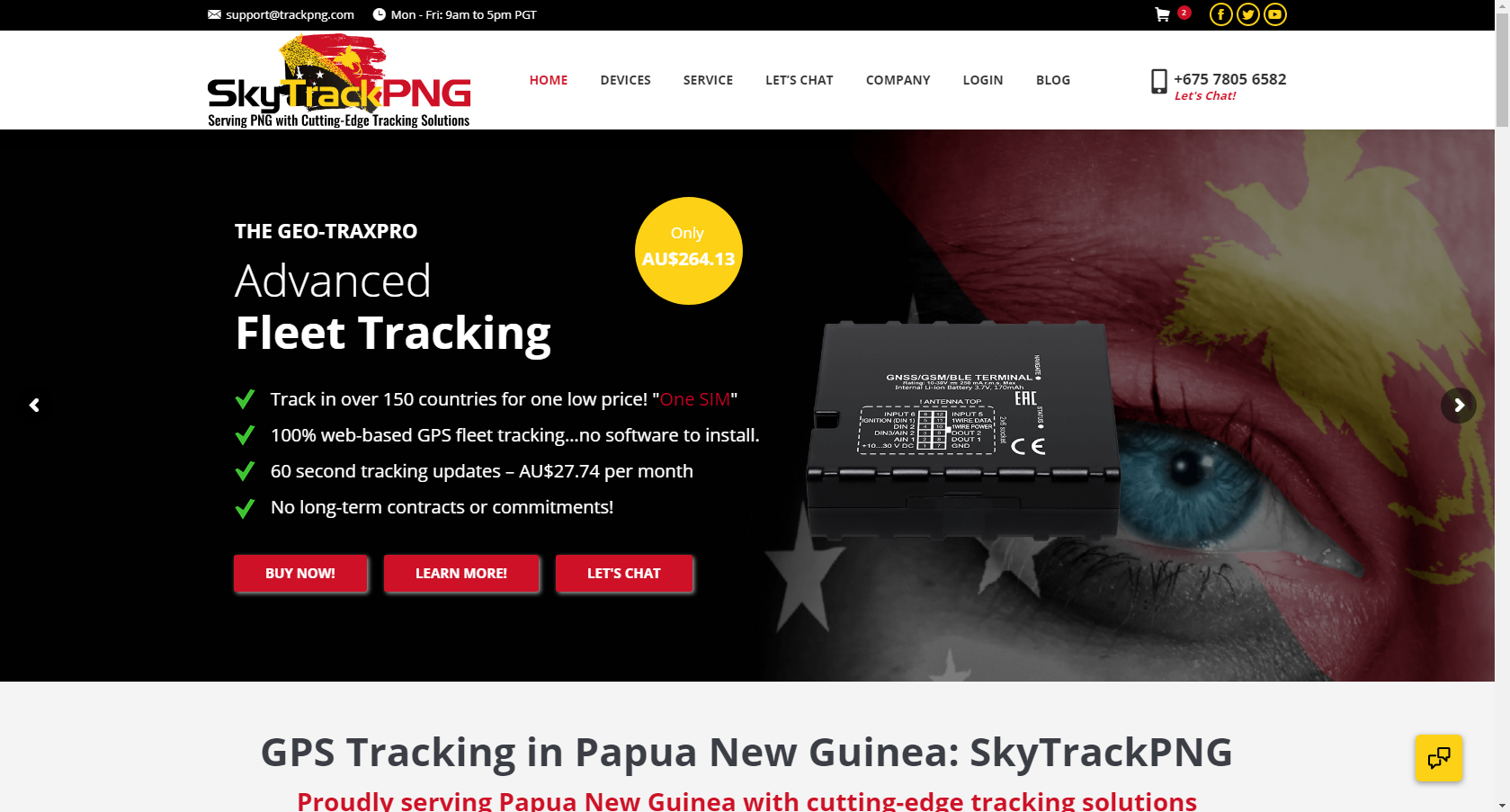 Cutting-Edge GPS Tracking in Papua New Guinea: SkyTrackPNG